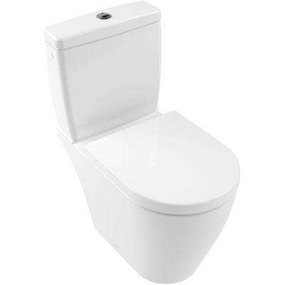 Villeroy & Boch Avento miska WC kompaktowa stojąca bez kołnierza Weiss Alpin 5644R001