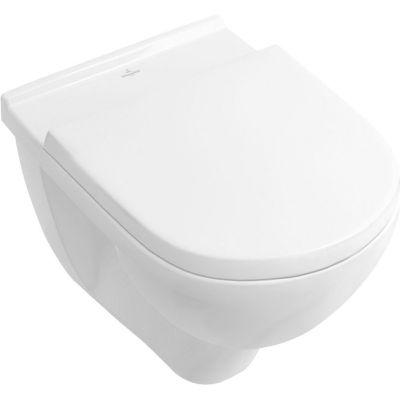 Villeroy & Boch O.Novo combi-Pack miska WC wisząca z deską wolnoopadającą Weiss Alpin 5660HR01