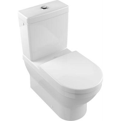 Villeroy & Boch Architectura miska WC kompaktowa stojąca CeramicPlus Weiss Alpin 568610R1
