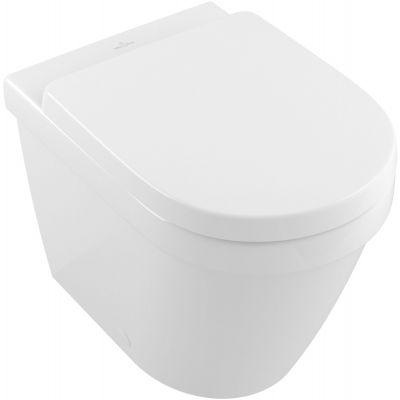 Villeroy & Boch Architectura miska WC stojąca bez kołnierza Weiss Alpin 5690R001