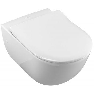Villeroy & Boch Subway miska WC wisząca CeramicPlus Star White 660010R2