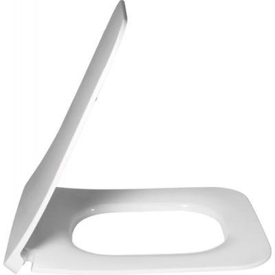 Villeroy & Boch Legato deska sedesowa wolnoopadająca SlimSeat Line Weiss Alpin 9M96S101