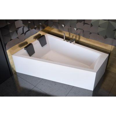 Besco Intima Duo wanna narożna 170x125 cm asymetryczna lewa biała #WAID-170-NL