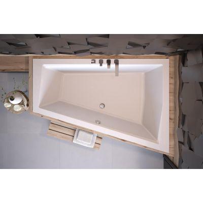 Besco Intima Duo Slim wanna narożna 170x125 cm asymetryczna prawa biała #WAID-170-SP