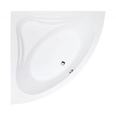 Besco Mia wanna narożna 120x120 cm symetryczna biała #WAM-120-NS