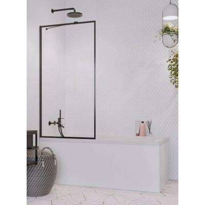 Radaway Idea Black PNJ Frame parawan nawannowy 90 cm szkło przezroczyste 10001090-54-56