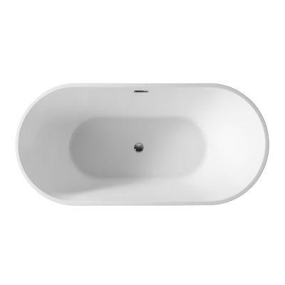 Hagser Petra wanna wolnostojąca 160x75 cm akrylowa biała HGR50000012