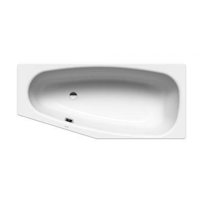 Kaldewei Mini wanna narożna 157x75/50 cm lewa model 832 z powierzchnią uszlachetnioną biała 224800013001