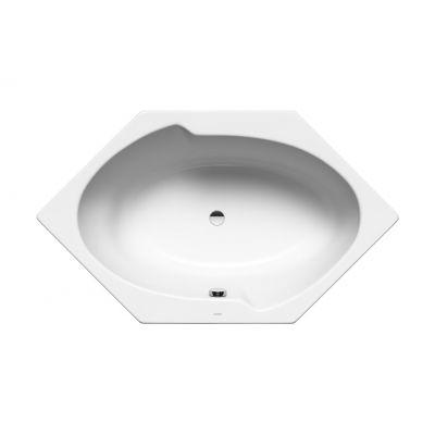 Kaldewei Twin Pool wanna sześciokątna 170x100 cm model 660 biała 228100010001
