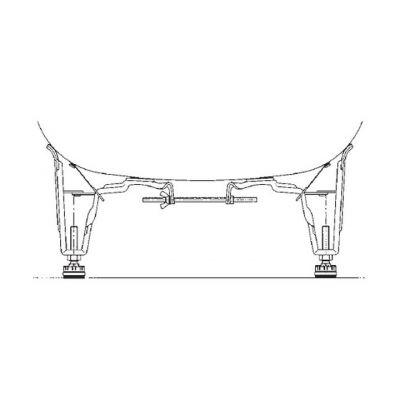 Kaldewei Allround nogi do wanny model 5030 581470020000