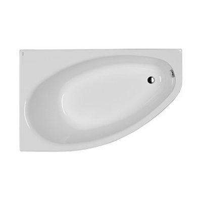Koło Elipso wanna asymetryczna 150x100 cm lewa biała XWA0851000