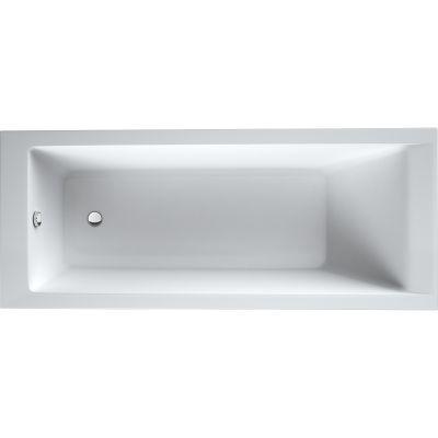 Oltens Langfoss wanna prostokątna 140x70 cm akrylowa biała 10001000