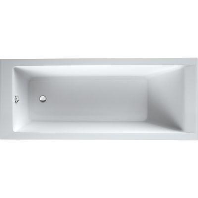 Oltens Langfoss wanna prostokątna 160x70 cm akrylowa biała 10003000