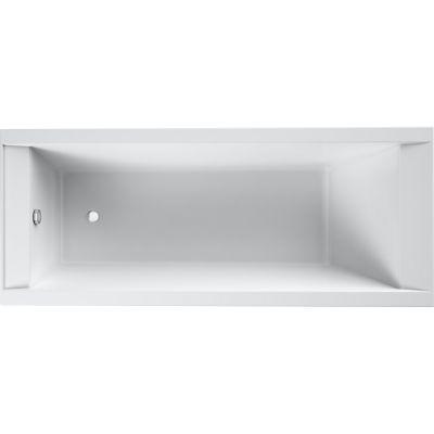 Oltens Langfoss wanna prostokątna 170x75 cm akrylowa biała 10005000