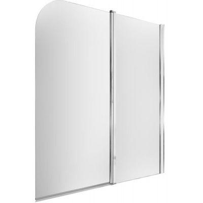Omnires Mayfair parawan nawannowy 115 cm prawy chrom/szkło przezroczyste QP95B-PLUXCRTR