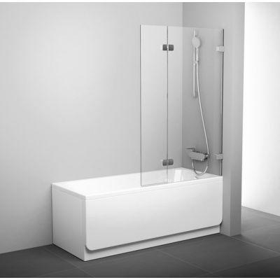 Ravak Brillant BVS2-100 P parawan nawannowy 100 cm 2-częściowy prawy szkło transparentne 7UPA0A00Z1
