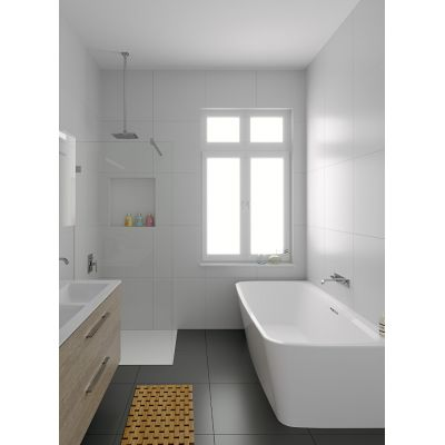 Riho Adore wanna prostokątna 180 x 86 cm biała BD04