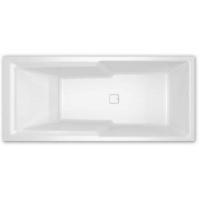 Riho Still Shower wanna prostokątna 180x80 cm biała BR05