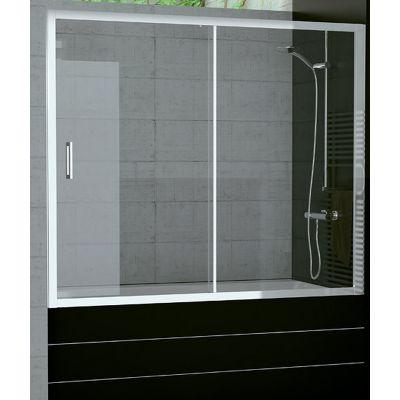 SanSwiss TOP-Line parawan nawannowy 180x150 cm chrom/szkło przezroczyste TOPB218005007