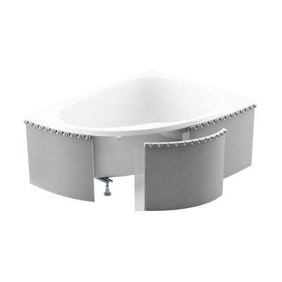 Schedpol Standard obudowa do wanny 240x58 cm półokrągła 1.040