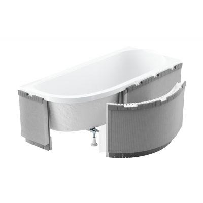 Schedpol Standard Plus obudowa podpłytkowa LED do wanny półokrągłej  1.040-LED