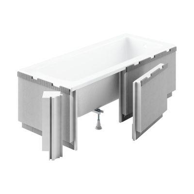 Schedpol Standard Plus obudowa podpłytkowa LED do wanny prostokątnej 1.041-LED