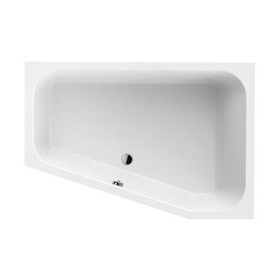 Sanplast Free Line wanna trapezowa prawa 120x175 cm biała WTP/FREE 120x175+STW biew 610-040-1310-01-000