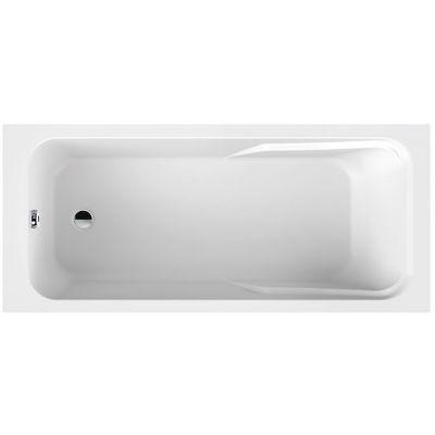Sanplast Modesta wanna prostokątna 160x70 cm biała WP/MO 70x160+STW biew 610-340-0050-01-000