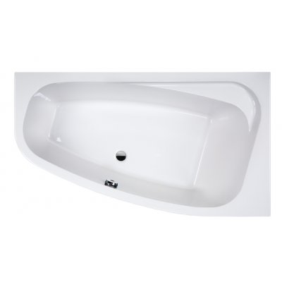 Sanplast Free Line wanna asymetryczna prawa 90x160 cm WAP/FREE+STW 610-040-0690-01-000