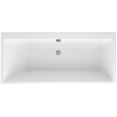 Villeroy & Boch Subway Duo wanna prostokatna 180x80 cm Weiss Alpin UBA180SUB2V-01