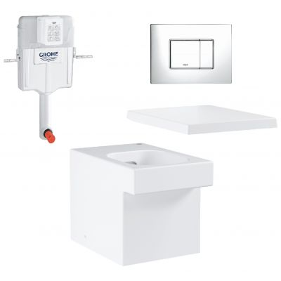 Zestaw Grohe Cube Ceramic 4 (3948500H, 38661000, 39488000, 38732000)