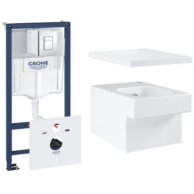 Zestaw Grohe Cube Ceramic 5 (3924400H, 38827000, 39488000)