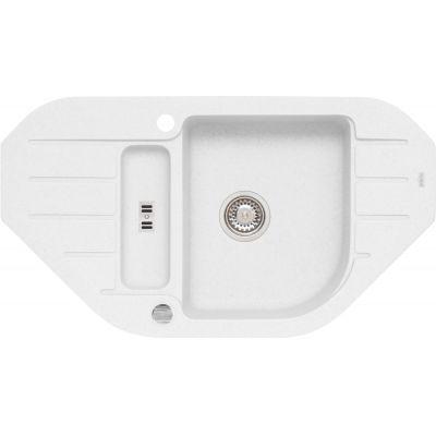 Alveus Niagara 60 zlewozmywak 90x50 cm 1.5-komorowy biały 1126011