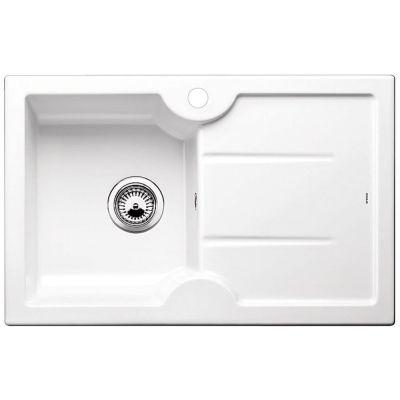 Blanco Idessa 45 S zlewozmywak 78x50 cm ceramiczny lewy biały połysk 514497