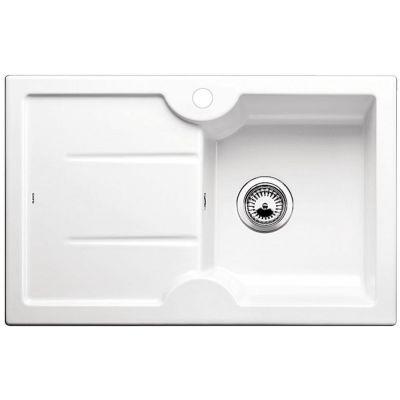Blanco Idessa 45 S zlewozmywak ceramiczny 78x50 cm prawy biały połysk 514498