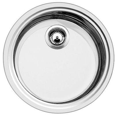 Blanco Rondosol-IF zlewozmywak stalowy 44,8 cm stal szczotkowana 514647