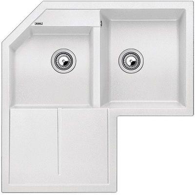 Blanco Metra 9 E zlewozmywak 83x83 cm z Silgranit PuraDur biały 515568