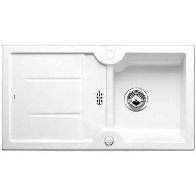 Blanco Idessa 5 S zlewozmywak 91,5x50 cm ceramiczny biały połysk 516076