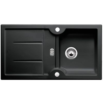 Blanco Idessa 5 S zlewozmywak 91,5x50 cm ceramiczny czarny 516082