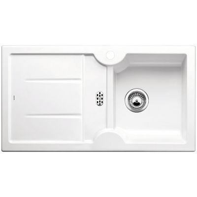 Blanco Idessa 5 S zlewozmywak 91,5x50 cm ceramiczny prawy biały połysk 516171