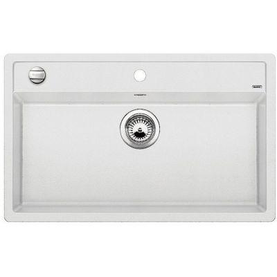 Blanco Dalago 8 zlewozmywak 81,5x51 cm z Silgranit PuraDur biały 516633
