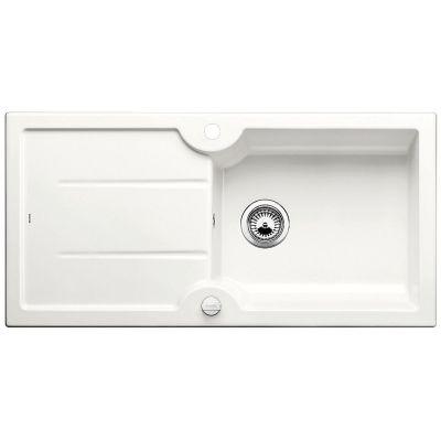 Blanco Idessa XL 6 S zlewozmywak ceramiczny 100x50 cm biały połysk 520308