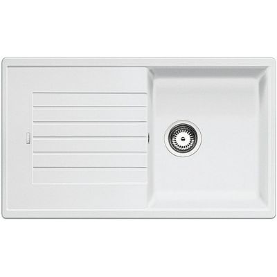 Blanco Zia 5 S zlewozmywak 86x50 cm z Silgranit PuraDur biały 520515