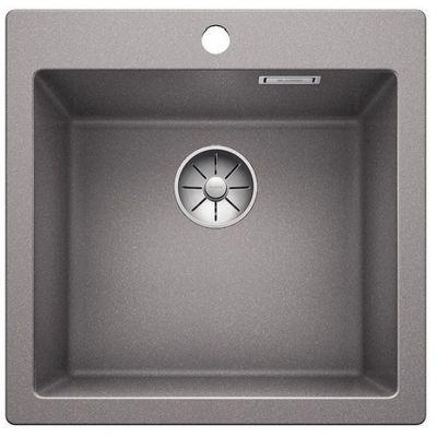 Blanco Pleon 5 zlewozmywak 51,5x51 cm z Silgranit PuraDur alumetalik 521670