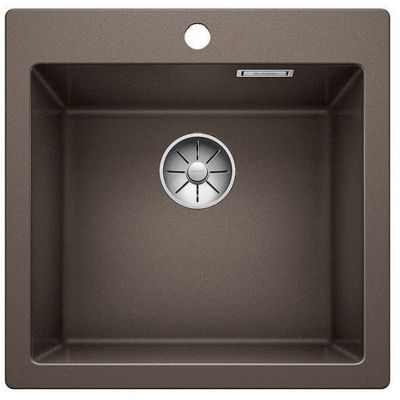 Blanco Pleon 5 zlewozmywak 51,5x51 cm z Silgranit PuraDur kawowy 521677
