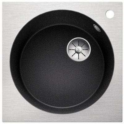 Blanco Artago 6-IF/A zlewozmywak 51x51 cm z Silgranit PuraDur antracyt/stal 521766