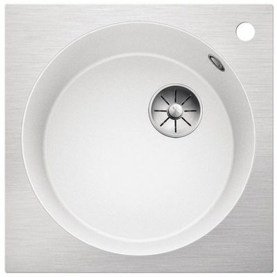 Blanco Artago 6-IF/A zlewozmywak 51x51 cm z Silgranit PuraDur biały/stal 521767