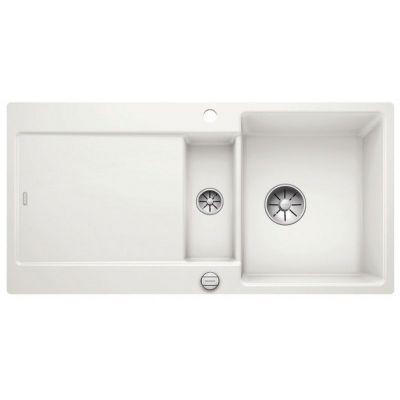 Blanco Idento 6 S zlewozmywak ceramiczny 100x51 cm PuraPlus biały połysk 522122