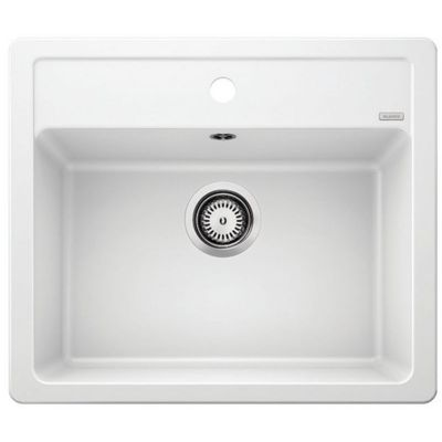 Blanco Legra 6 zlewozmywak 58,5x50 cm z Silgranit biały 523334