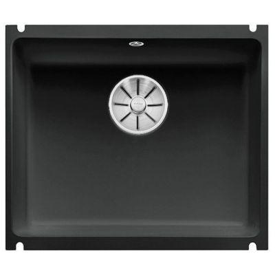 Blanco Subline 500-U zlewozmywak ceramiczny 54,3x45,6 cm PuraPlus czarny 523740